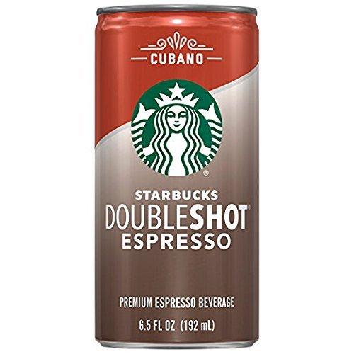 Starbucks Doubleshot Espresso, Cubano, 12 Count, 6.5 fl oz Cans