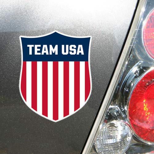 6.5' Magnet (Olympics USA Olympics 5'' x 6.5'' Crest Die-Cut Magnet)