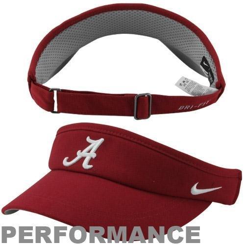 Nike Visor Sideline (Nike Alabama Crimson Tide Sideline Dri-FIT Adjustable Performance Visor)
