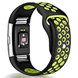 HUMENN Bands Compatible for Fitbit Charge 2, Replacement Accessory Sport Band Compatible for Fitbit Charge 2 HR