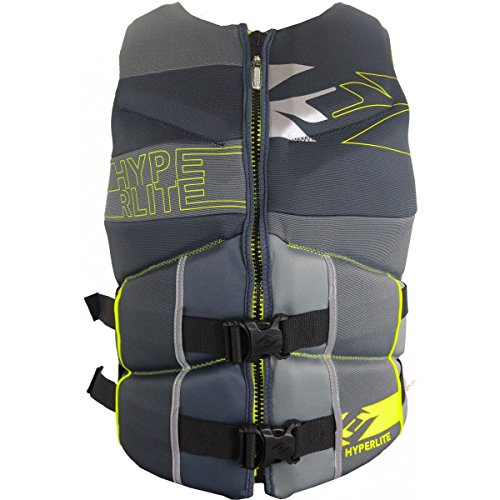 Used, Hyperlite Men's CGA Vest 2016 ‑ Grey/Yellow ‑ XL or for sale  Delivered anywhere in USA