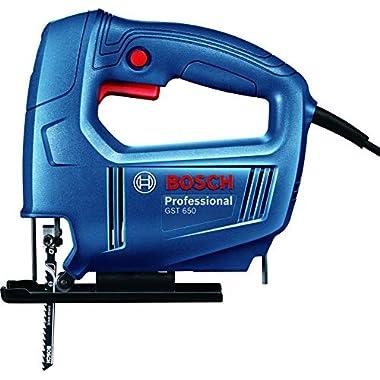 Bosch 06015A80F0 GST 650 Professional Jigsaw, Blue 7