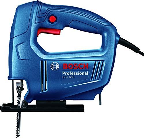 Bosch 06015A80F0 GST 650 Professional Jigsaw, Blue 2