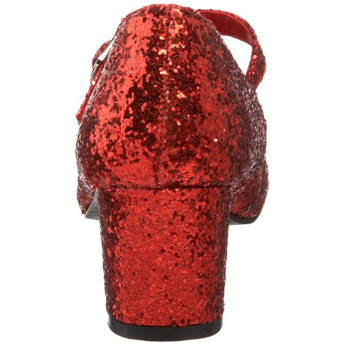 Schoolgirl 50g Red Funtasma Gltr para Merceditas Mujer TqdHwHBx5