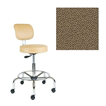 Office Master Classic Collection CL35 Ergonomic Classic-Professional Stools - No Armrests - Grade 1 Fabric - Spice