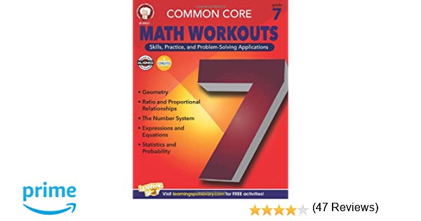 Common Core Math Workouts, Grade 7: Karice Mace, Keegen Gennuso ...