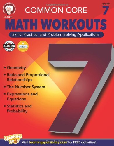 Common Core Math Workouts, Grade 7 -  Karice Mace, Teacher's Edition, Paperback