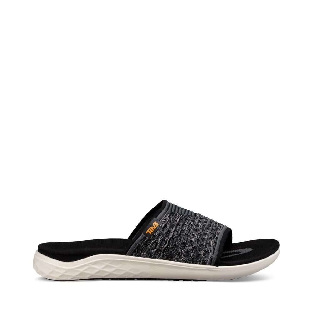 Teva - Men's Terra-Float 2 Knit Slide - Black - 11