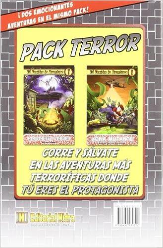 Terror: tú decides la aventura: Pack 2 libros PACK TU DECIDES LA AVENTURA: Amazon.es: García Ayerbe, Alberto: Libros
