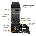 Liebert Uninterruptible Power Supply Mini-Tower Battery Backup & Surge Protection 7 SURGE PROTECTION & BATTERY BACKUP - 700VA/420W Line-Interactive, TAA Compliant UPS for guaranteed protection of desktop computers, gaming consoles, workstations, networks/routers, surveillance & other electronics 8 TOTAL OUTLETS & USB - 4 surge only & 4 battery & surge outlets with built in USB port, included USB cable EXCELLENT WARRANTY - 3 year full unit coverage including the battery with no-hassle, advanced replacement warranty