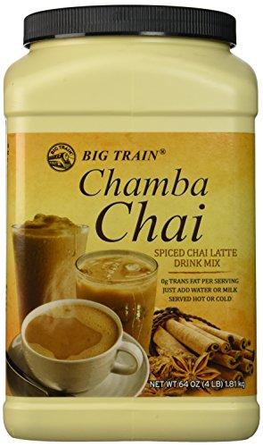 Big Train Chamba Chai Spiced Chai Lattei, Two  4lb. Jugs