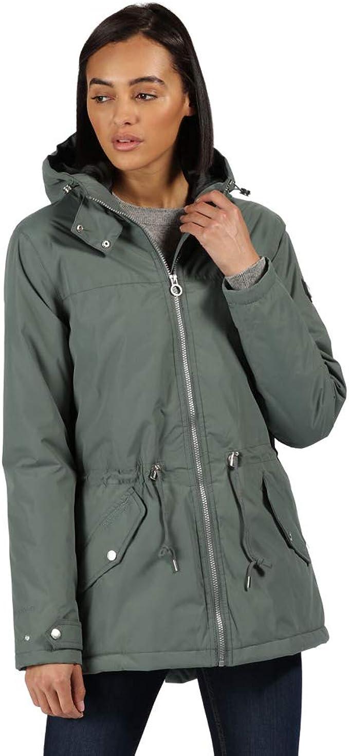 Regatta Damen Brigid Waterproof Hydrafort Taped Seams Durable Water Repellent Finish Thermoguard Insulation Jacke