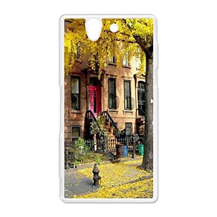 Amazon.com: Carcasa para Sony Xperia Z, diseño de Brooklyn ...