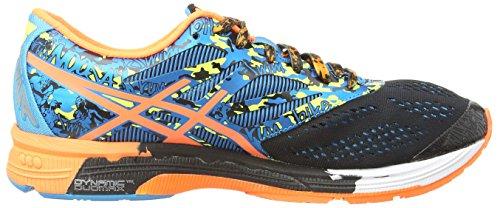 Asics Gel-Noosa Tri 10, Scarpe Sportive, Uomo Black/Flash Orange/Flash Yellow 9030