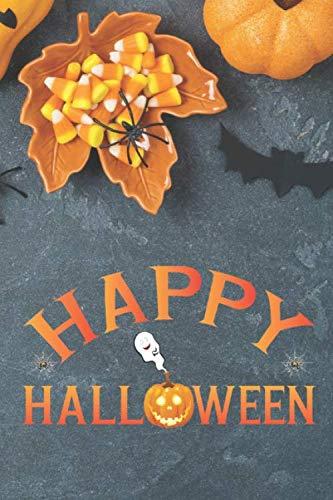 Halloween Dish Ideas (Happy Halloween: Funny journal for gift bags, Halloween partiy, costume desgin, horror makeup ideas, spooky recepis, spider and bat)