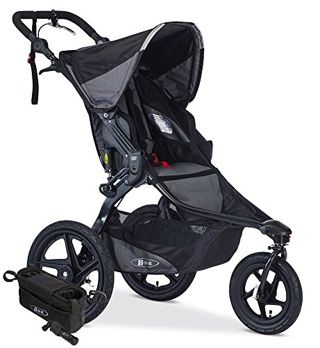 - BOB Revolution PRO Jogging Stroller Bundle, Black