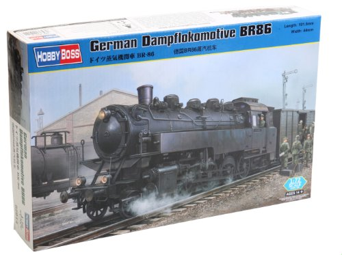 Hobby Boss German Dampflokomotive BR86 Assembly kit