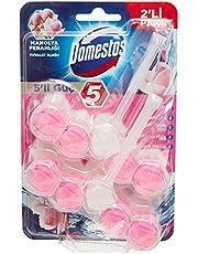 Domestos 5'li Güç Manolya Ferahlığı Tuvalet Bloğu Duopack, 2 Adet