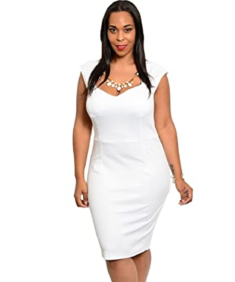 Amazon.com: TBA Plus Size, White, Textured, Gold Necklace ...