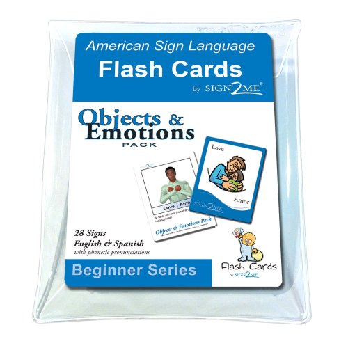 ASL Flash Cards - Learn Signs for Objects & Emotions with