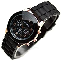 Sinceda Watch Classic Silicone Women Watch Gifts Stylish Fashion Lady Brand Watch for Girl L201-y from GENEVA