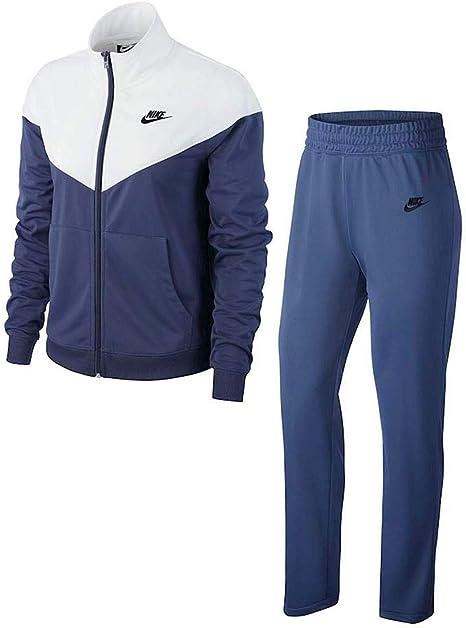 Nike NSW TRK Trainingsanzug Chándal para Mujer, Morado, Blanco y ...