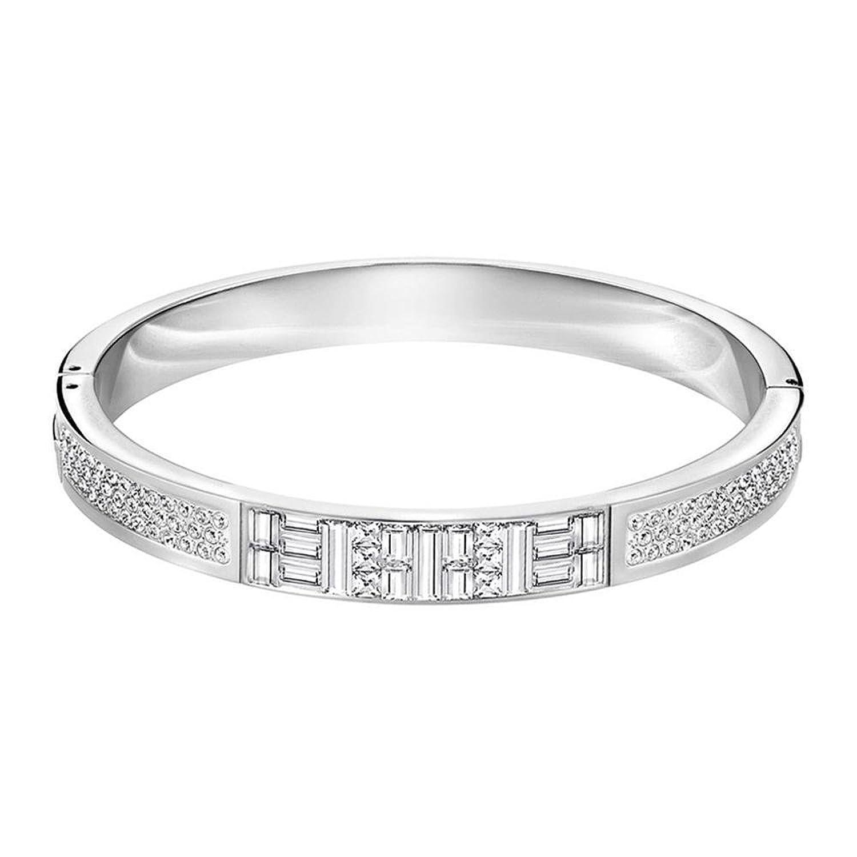 Amazon Swarovski Ethic Narrow Bangle Jewelry