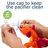 Dragon Pacifier with Stuffed Animal – Baby Binky