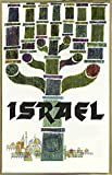 Israel Travel-VINAPP116541 Print 25''x15.75'' by Vintage Apple Collection in a Gold Metal Frame