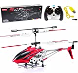 Syma S107/S107G Phantom 3CH 3.5 Channel Mini RC Helicopter with Gyro Red