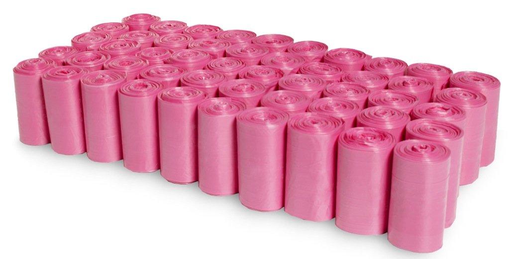 1000 EZ Baby Diaper Disposal Bags Refills Unscented Bulk Pink