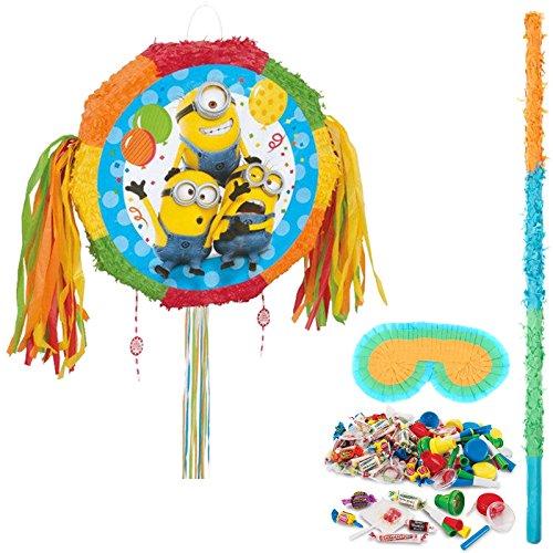 BirthdayExpress Despicable Me Party Supplies Minions Pinata Kit]()