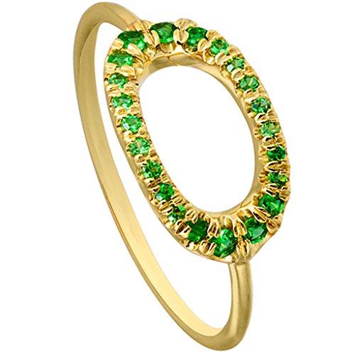 Tsavorite Yellow Ring - 1