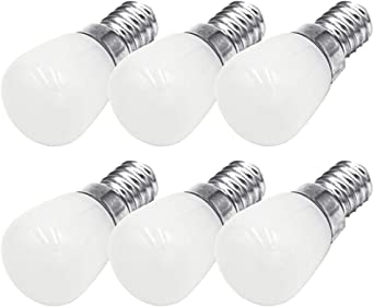 6 Pack]E14 LED Bulbo 3W Máquina de Coser Bombilla de Reemplazo ...