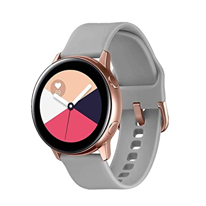 TECKMICO Galaxy Watch Active Bands,20mm Quick Release Bands Compatible for Samsung Galaxy Watch Active (40mm)/Galaxy Watch(42mm)/Gear S2/Gear Sport ...