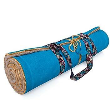 best quality Clearance sale 50% off Holistic Silk Yoga Mat Aqua Blue: Amazon.co.uk: Sports ...