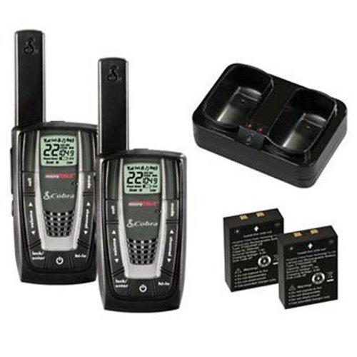 NEW! 4 PAIR COBRA CXR725 27 Mile 22 Channel FRS/GMRS Walkie Talkie 2-Way  Radios