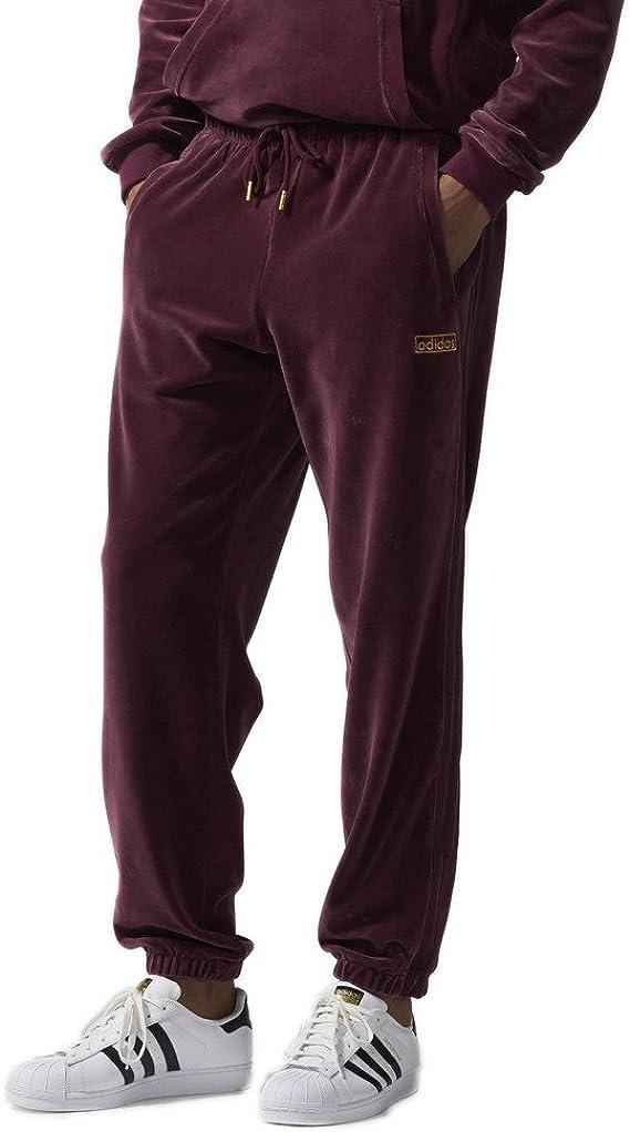 adidas Pantalones de chándal Hombre, Hombre, Velours, marrón, XX ...