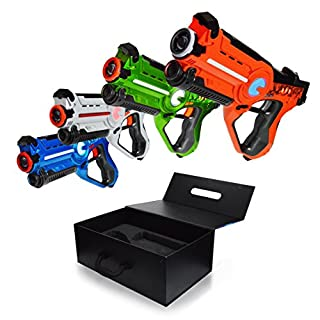 Games by tag do it yourselfore family games laser tag night 4 pack set glow in the dark family yard games solutioingenieria Choice Image