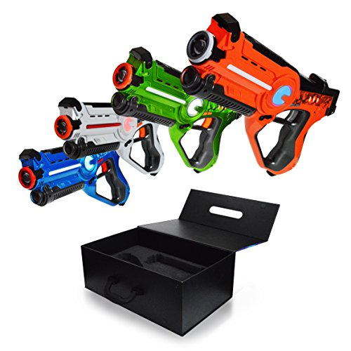 Dynasty Toys Laser Tag Set And Carrying Case For Kids
