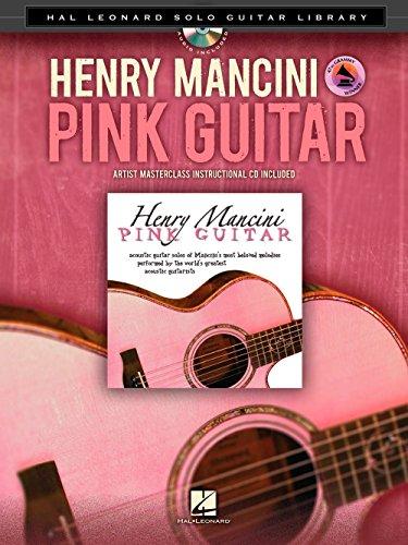 hal-leonard-henry-mancini-pink-guitar-hal-leonard-solo-guitar-library-book-cd