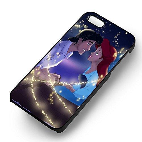 Ariel et Eric With Love pour Coque Iphone 6 et Coque Iphone 6s Case (Noir Boîtier en plastique dur) S5U9SV