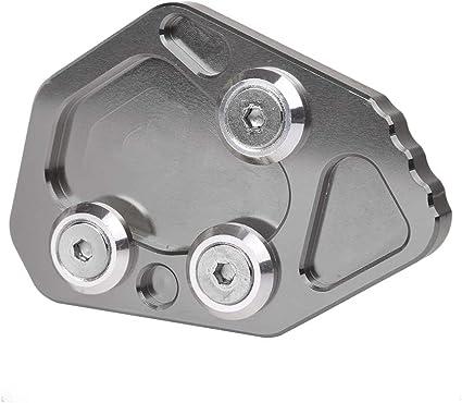 Motorrad CNC Aluminium Seitenst/änder F/ür Yamaha NMAX 125 155-Schwarz+Titan