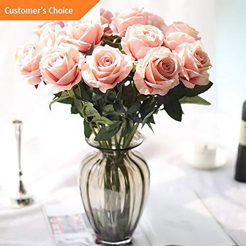 Hebel 10 Stems Artificial Floral Silk Fake Flower Bouquet Home Decor Wedding Decor 8 | Model ARTFCL - 334 |