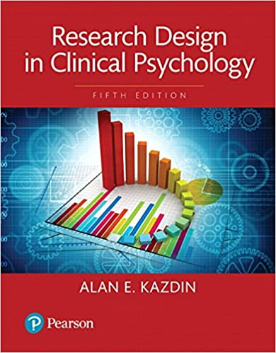Amazon Com Research Design In Clinical Psychology Books A La