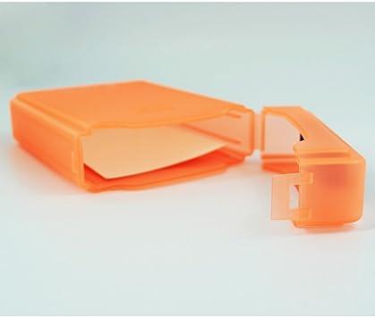 SODIAL(R) Caja de Almacenamiento IDE/SATA HDD Disco Duro 3.5-Pulgadas (Naranja): Amazon.es: Electrónica