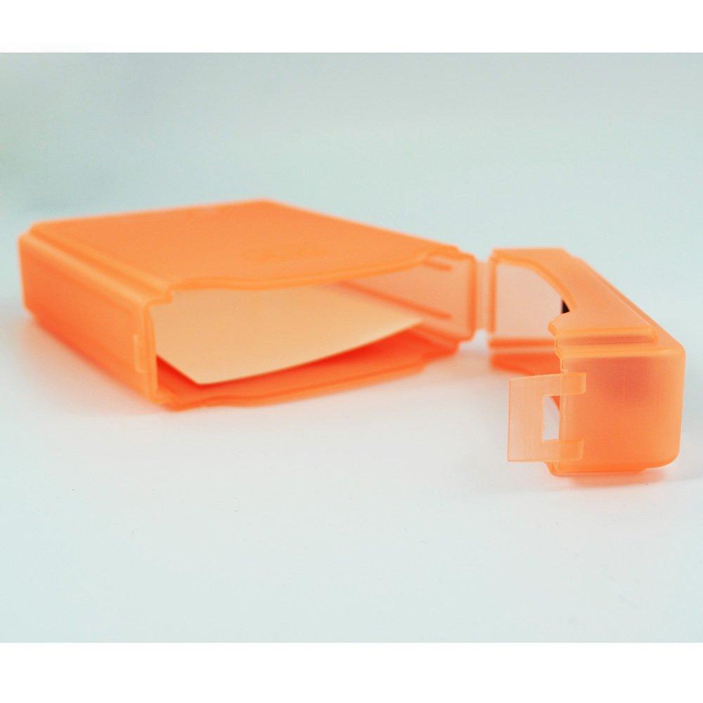 Orange SODIAL R 3.5Inch boite de rangement pour disque dur IDE//SATA HDD