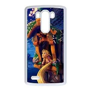 Tangled LG G3 Cell Phone Case White Gnrki