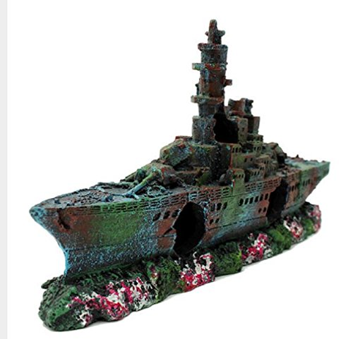 resin-boat-vessel-ornament-decoration-for-fish-tank-cave-liberty-wreck-decorate-your-fish-tank-230-x