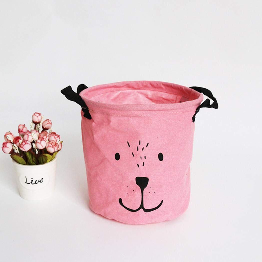 GUIGSI Kleidung Lagerplatz f/ür Baby Kindergarten zu halten Baby Kleidung Decken Handt/ücher Spielzeug Faltbare W/äschek/örbe